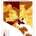 Percentage of Students Passing H.S.A. Government