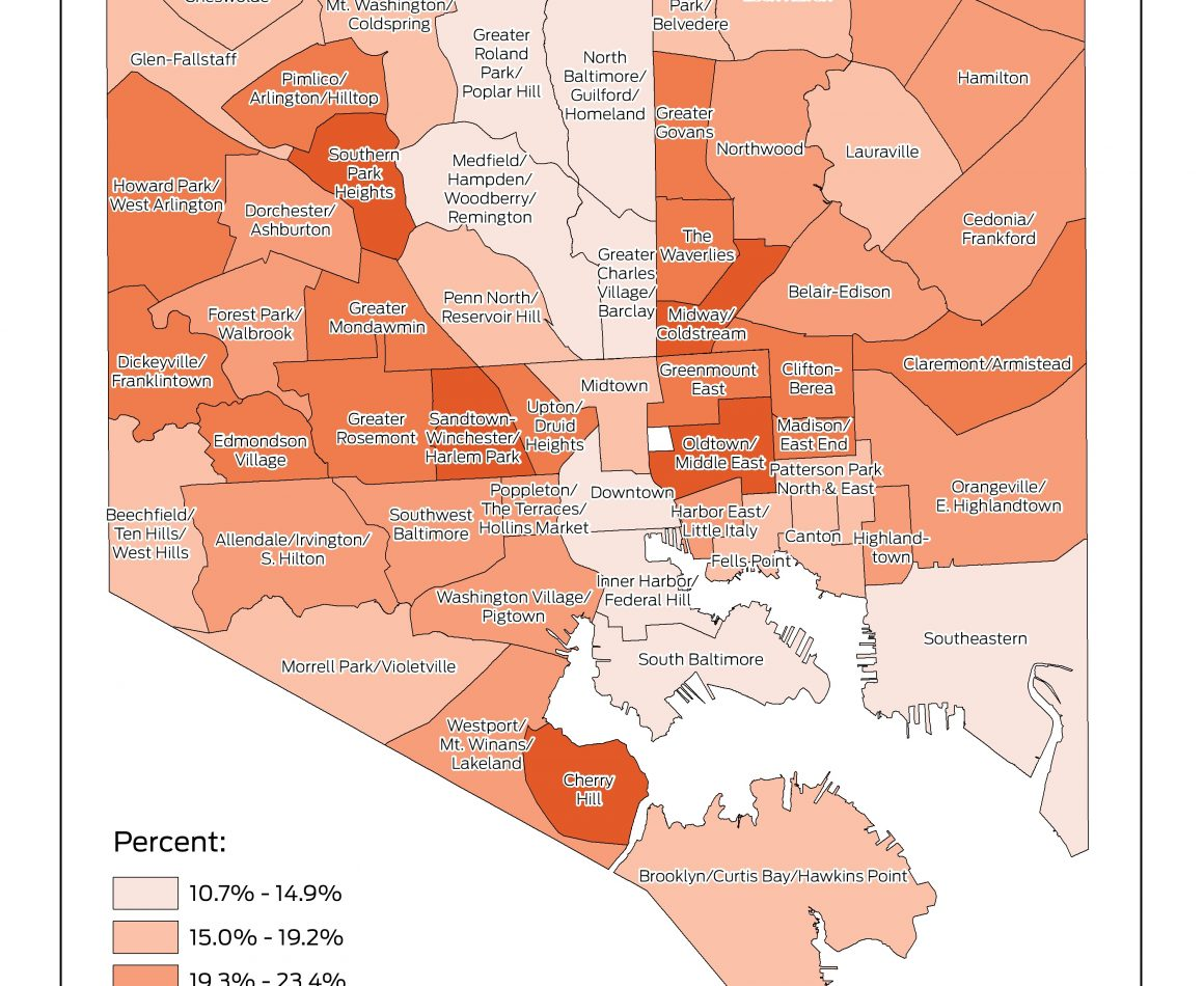 Lack of Accessibility Leads to High-Commute Time Neighborhoods