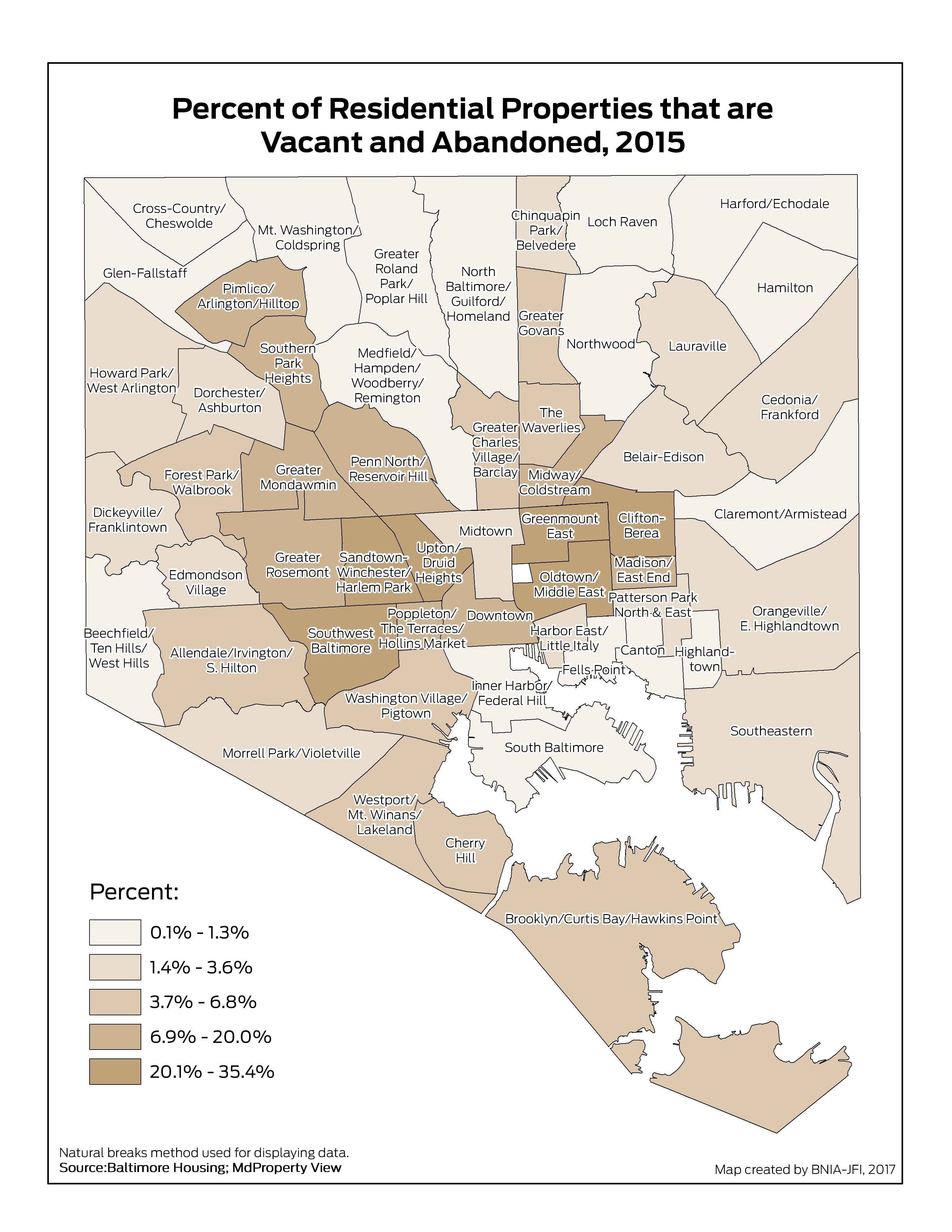 The Impact of Vacancy on Baltimore's Neighborhoods