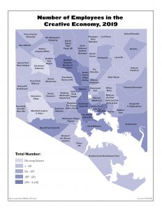 Number of Employees in the Creative Economy