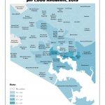 Liquor Outlet Density per 1,000 Residents