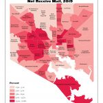 Percent of Residential Properties that do Not Receive Mail (2019)
